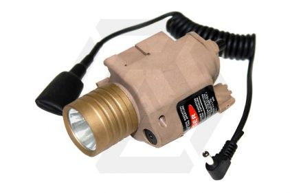 Zero One QLED M6 Illuminator with Integrated Laser (Tan)