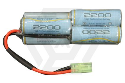 Zero One 8.4v 2200mAh NiMH Battery for Aug © Copyright Zero One Airsoft