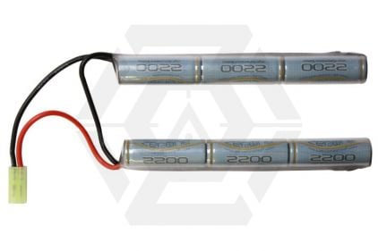 Zero One 7.2v 2200mAh NiMH High Performance Battery for Crane Stocks © Copyright Zero One Airsoft