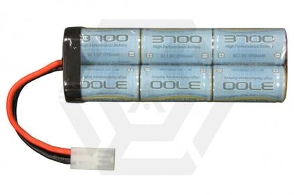 Zero One 7.2v 3700mAh NiMH High Performance Large Battery © Copyright Zero One Airsoft