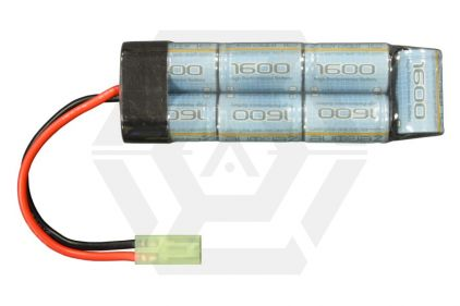 Zero One 8.4v 1600mAh NiMH High Performance Mini Battery