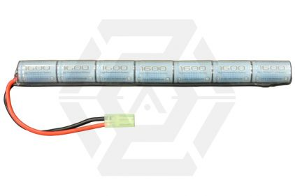 Zero One 8.4v 1600mAh NiMH High Performance Stick Battery