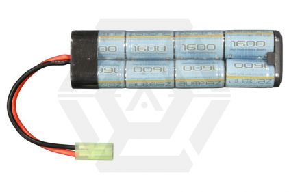 Zero One 9.6v 1600mAh NiMH High Performance Mini Battery