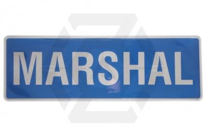 Zero One VizMax Pro Reflective Marshal Badge Large