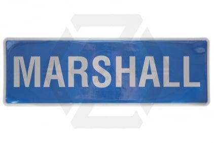 Zero One VizMax Pro Reflective Marshall Badge Large