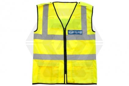 Zero One VizMax Pro Reflective Marshal Vest - Size Large © Copyright Zero One Airsoft